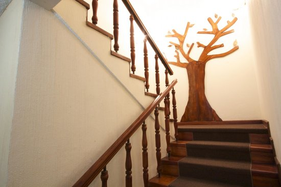 Comfort Hostel: Stairs