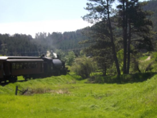 1880 Train/Black Hills Central Railroad: view from the train