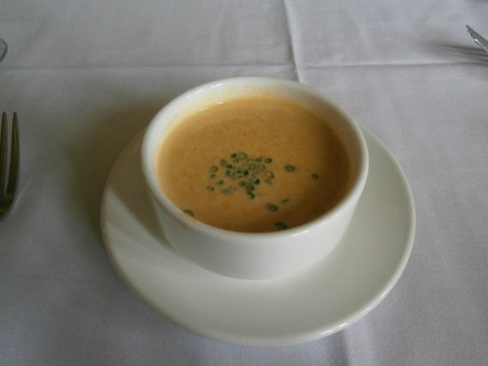 Excellent Sweet Potate Soup (special of the day)