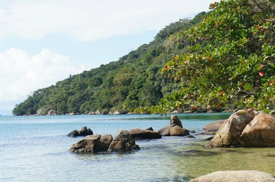 Pousada Recanto dos Passaros : conhecendo as ilhas