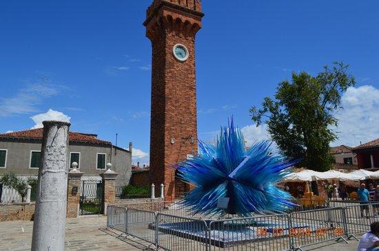 Isola di Murano: escultura de vidrio, representativa de la Isla Murano