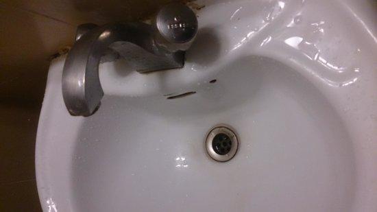 Phoenix Park Inn Resort: low stranderd bathroom fitting