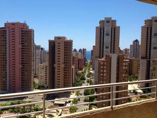 Marconfort Benidorm Suites: View from our room