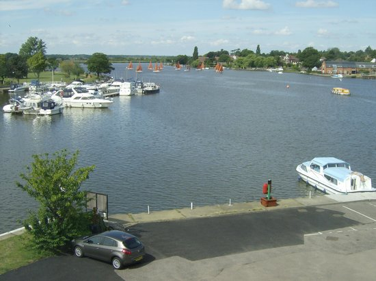 Wherry Hotel: View from Hotel Bedroom Window