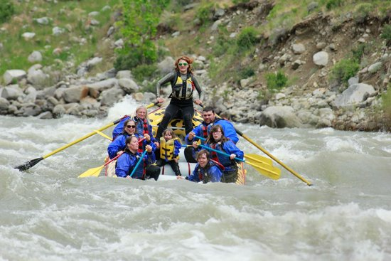Wild West Rafting: Kasara Batzler on a Half Day Rafting Trip!