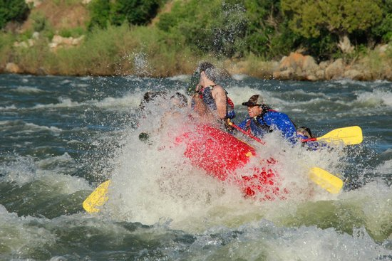 Wild West Rafting: Big splashes on the Full Day Rafting Trip!