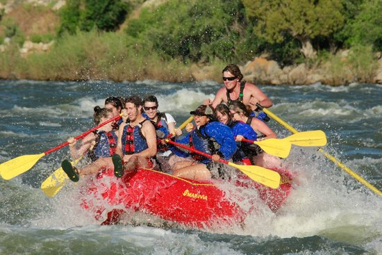 Wild West Rafting: Tucker Gosda having on fun on the Full Day Raft Trip!