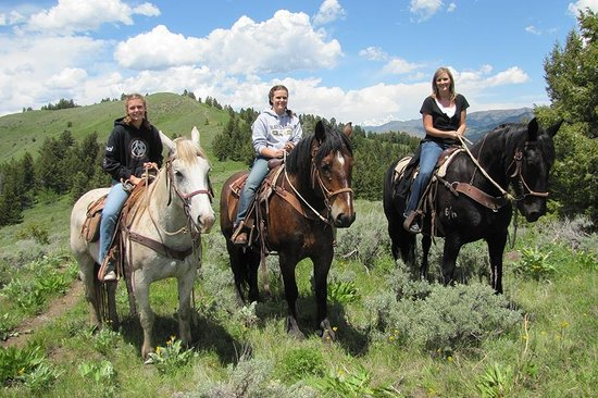 Wild West Rafting : Enjoy the scenery from uptop your horse!