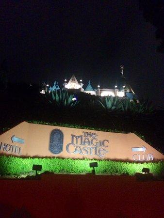 Magic Castle Hotel: Driveway