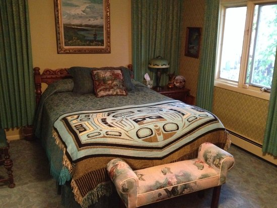 Big Bear Bed & Breakfast : our comfy bed