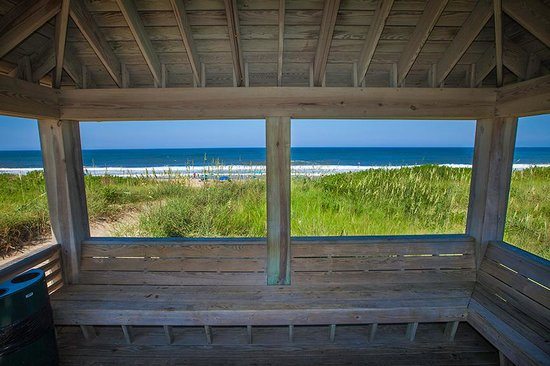 Shutters On the Banks: View from the Ocean Front Gazebo