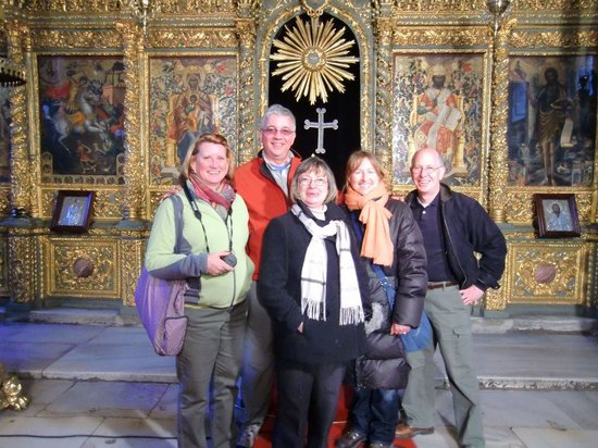 Walks In Istanbul - Tours: Constantinople NOT Istanbul! Inside the Greek Orthodox Patriarchal Church
