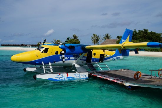 LUX* South Ari Atoll: Seaplane at Lux