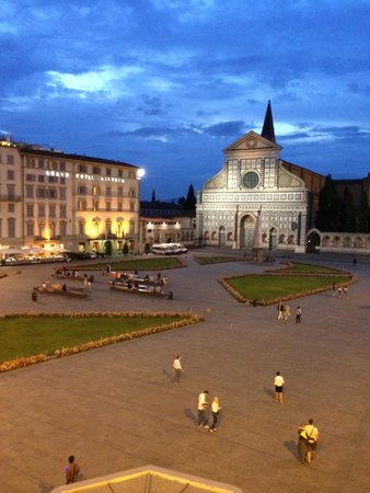 Santa Maria Novella Hotel: View from my room
