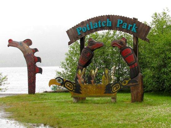 Ketchikan Taxi Cab Tours: Potlatch Park