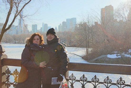 Central Park: Mucho frío , pero mereció la pena