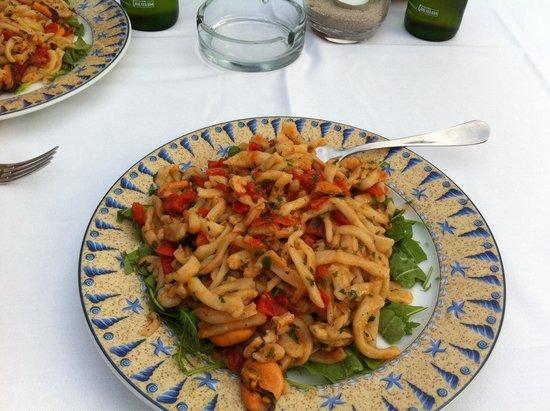 MiroMare Fontane Bianche: Pasta fresca gamberi e cozze