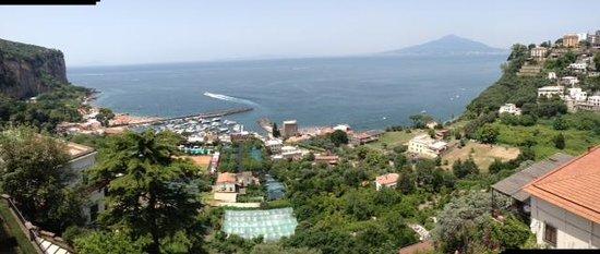 Grand Hotel Angiolieri: vue du toit