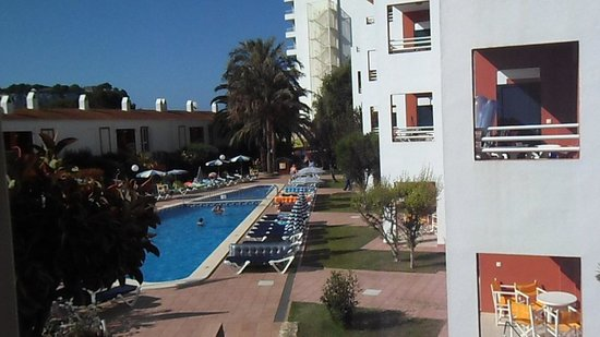 Apartamentos Cala Galdana: vista desde nuestro apartamento