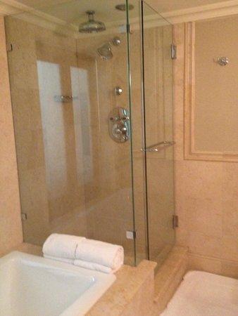 Cheeca Lodge & Spa: shower with many jets