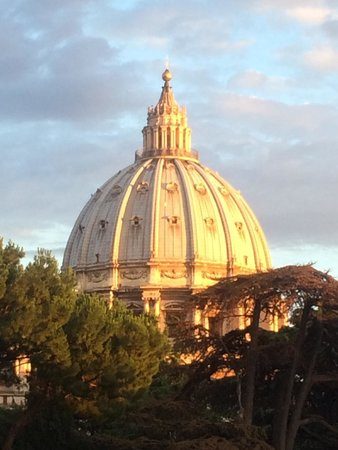 Musées du Vatican : stunning at sunset