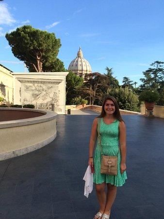 Vatikanische Museen (Musei Vaticani): on the Patio