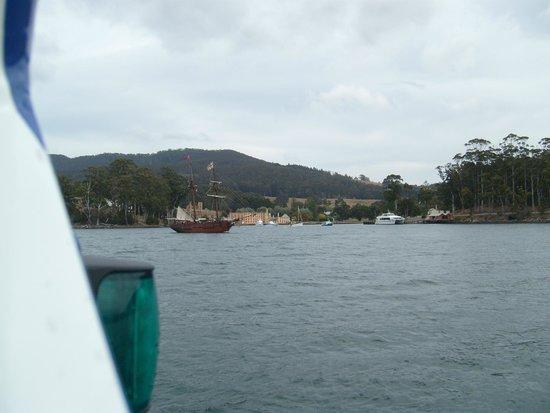Site historique de Port Arthur : Port Arthur from the water