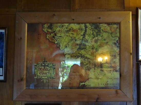 Middle Earth Tavern: map