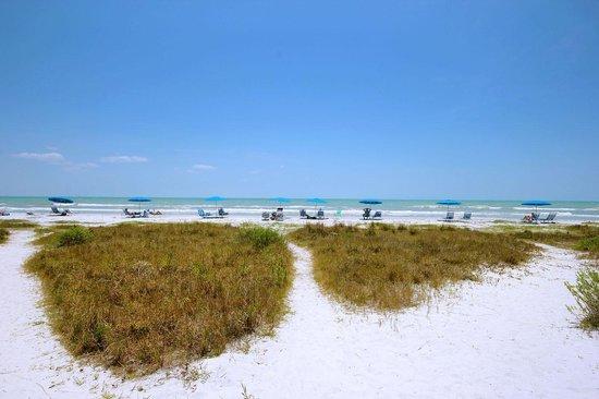 Sanibel Arms Condominiums: Beach