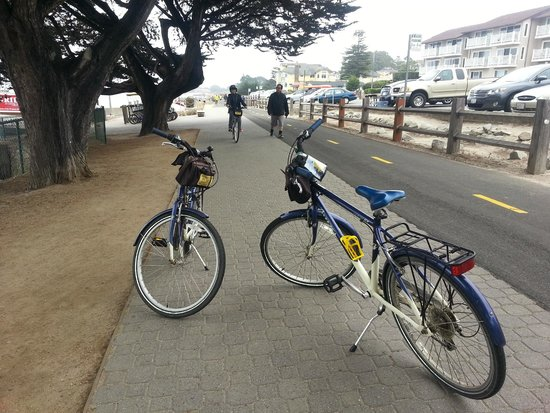 17-Mile Drive : Adventures By the Sea - bicycles (whaaaa...)