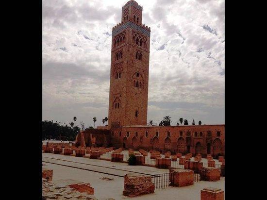 Mezquita y Minarete Kutubía: Koutoubia Mosque and Minaret