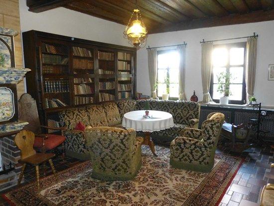 Hotel Burg Colmberg: Die Bibliothek