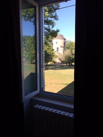 Auberge de la Tour: View from our room