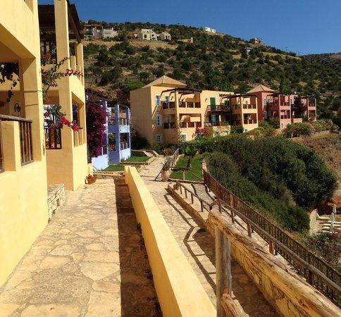 Candia Park Village : Апартаменты с видом на море