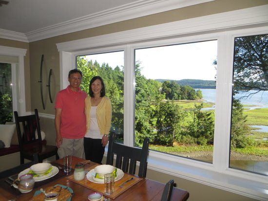 Island Estuary B&B: View from Dining Room
