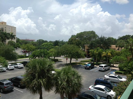 Wyndham Palm-Aire : View from Balcony