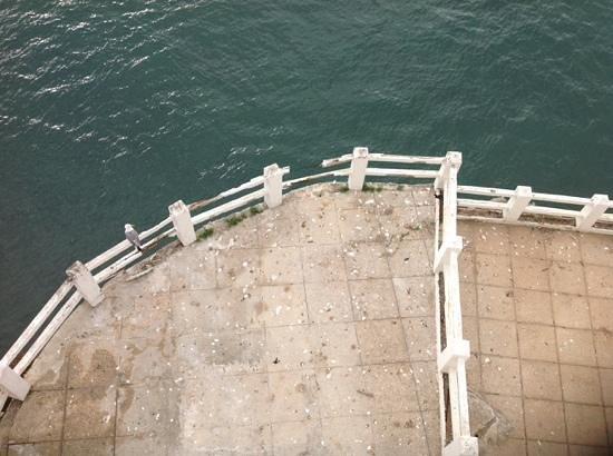Caleta Hotel: view from balcony