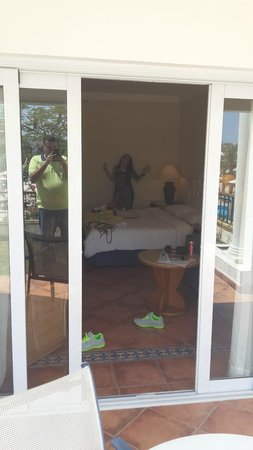 Hilton Sharm Dreams Resort: Out side Room
