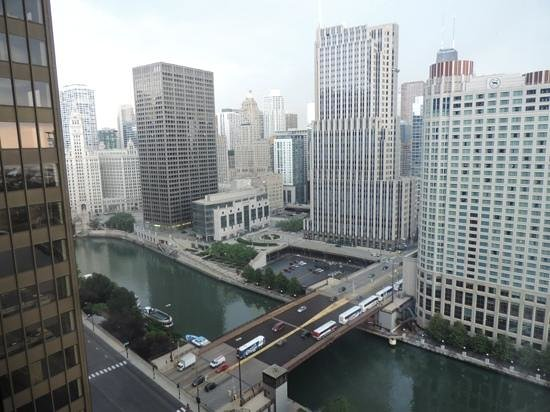Swissotel Chicago: the view from the 24th floor