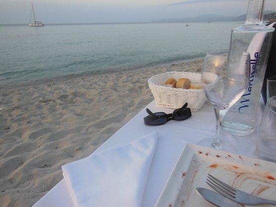 Restaurant le Marinella : au bord de l'eau