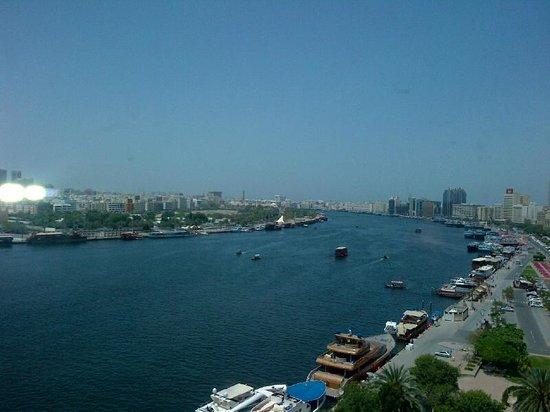 Sheraton Dubai Creek Hotel & Towers: Room with a view...