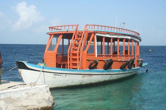 Biyadhoo Island Resort : Local Dhonni