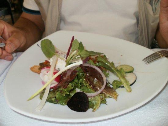 Restaurant La Treille Muscate : mon entrée