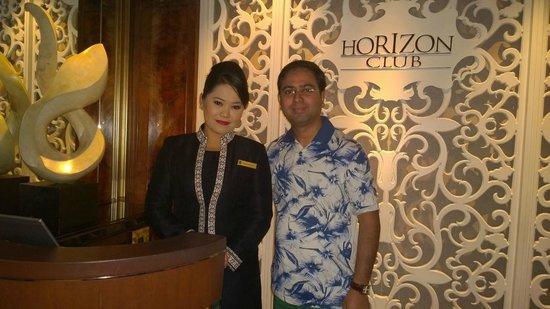 Shangri-La Hotel Kuala Lumpur : Yune at Hoziron club with great service & smile