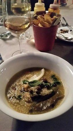 Kasbah Soul Kitchen: Cus cus con cozze e fagioli neri