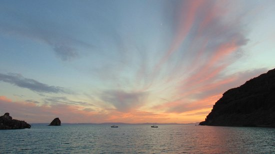 Baja Camp : tramonto