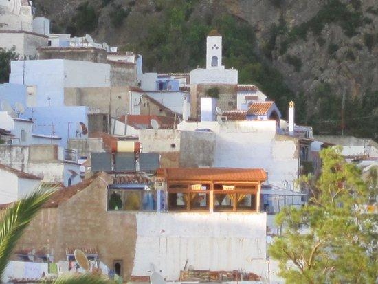 Hotel Koutoubia: La terrasse vue depuis la tour de la kasbah