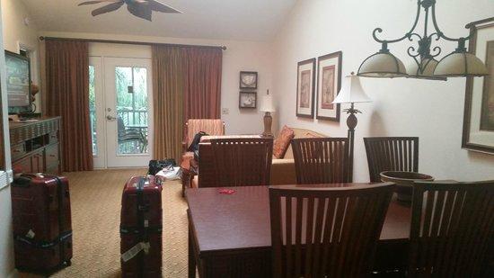 Sheraton Vistana Resort - Lake Buena Vista: Living Room