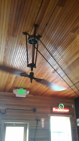 Belt Driven Ceiling Fan Picture Of Hard Rock Cafe