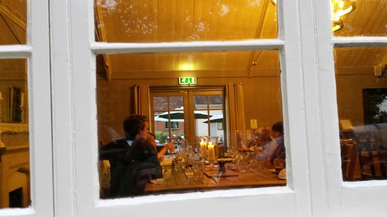 The Museum Inn: A private, relaxing, evening celebration meal for 9 of us.